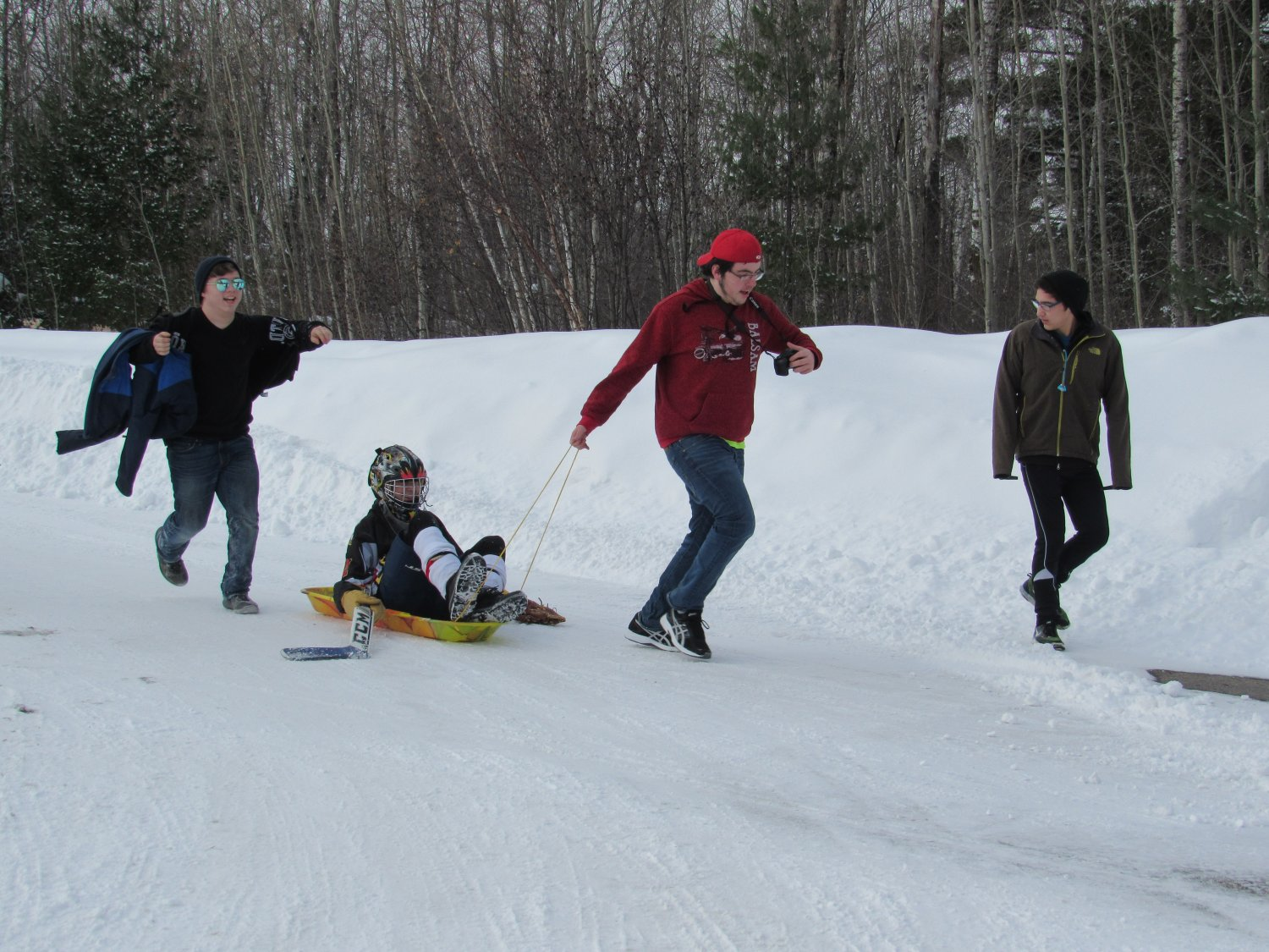 at our annual Winter Games